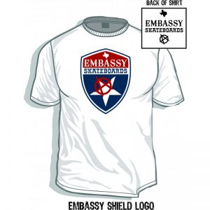 Embassy Shield Logo T-Shirt