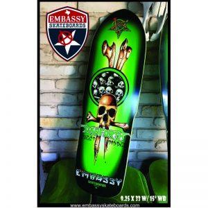 Embassy Skateboards DANFORTH Guest Model