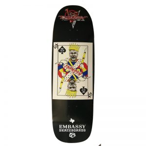Embassy Skateboard, Craig Johnson, Texas Card Series