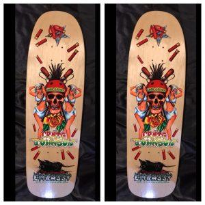 Embassy Skateboards, Craig Johnson, Dreadhead
