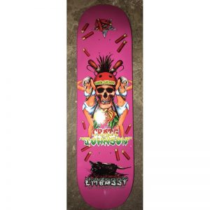 Embassy Skateboards Craig Johnson Loco Gringo PINK 8.5""