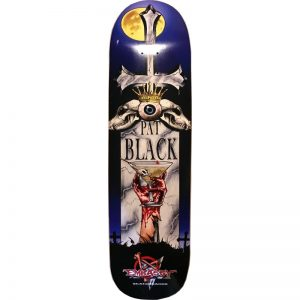 "Embassy Skateboards Pat Black, 9.25"" 32'5"" w/ 15.75"" wb"