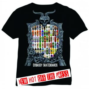 Embassy Skateboards Mirror Graphics TShirt