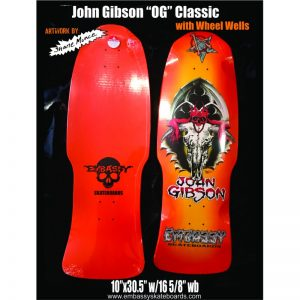 Embassy Skateboards John Gibson OG Sunburst